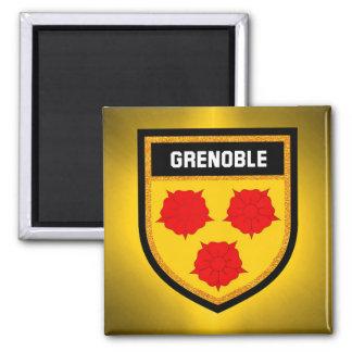 Grenoble Flag Magnet