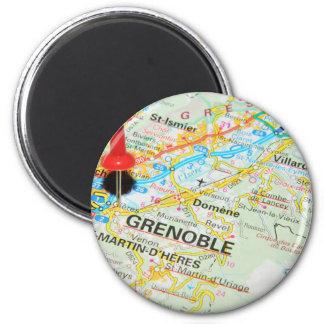 Grenoble, France Magnet