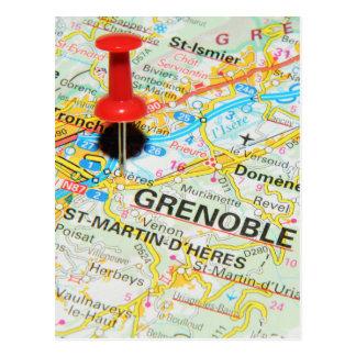 Grenoble, France Postcard