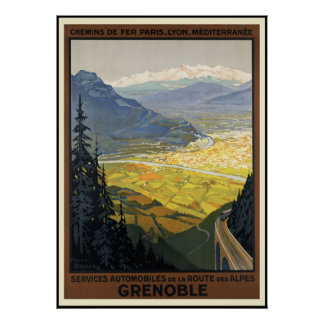 Grenoble Posters