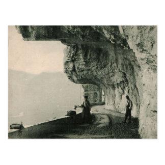 Grenoble Route de St Pancrace replica 1910 Postcard