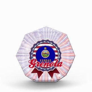 Grenola, KS Acrylic Award
