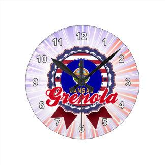 Grenola, KS Wallclock
