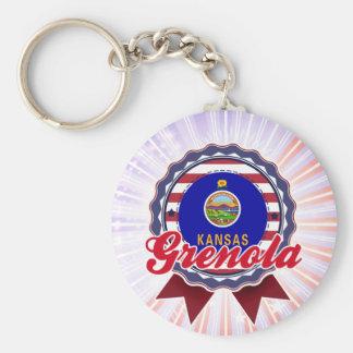 Grenola, KS Key Chain