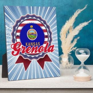 Grenola, KS Photo Plaque