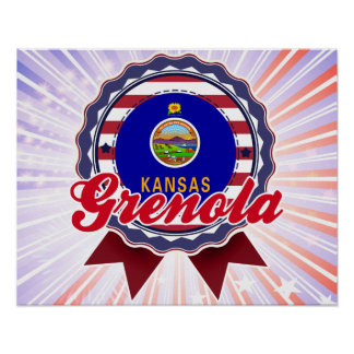 Grenola, KS Print