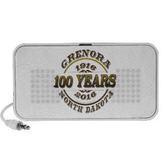 Grenora Centennial Memorabilia Laptop Speaker