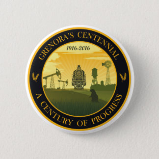 Grenora Centennial Official Logo Button