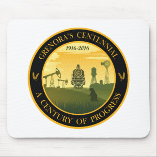 Grenora, ND 100th Mouse Pad