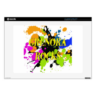 Grenora Rocks Items Decal For Laptop