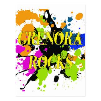 Grenora Rocks Postcard