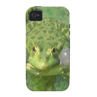 grenouille frog peace joy iPhone 4/4S case