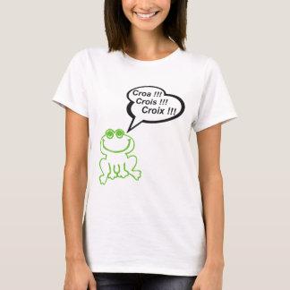 Grenouille vert noir T-Shirt
