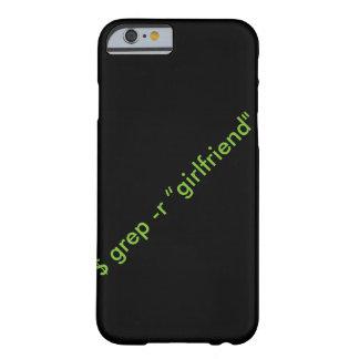 """grep de $ - caso del iPhone de la """"novia"""" de r Funda Barely There iPhone 6"""