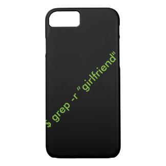 """grep de $ - caso del iPhone de la """"novia"""" de r Funda iPhone 7"""