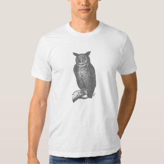 Gret Great Horned Owl T Shirts