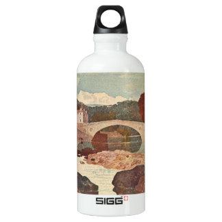 Greta Bridge, Pennine Hills, England Water Bottle