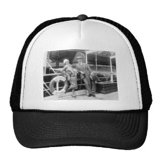 Greta Garbo and Mauritz Stiller 1925 Trucker Hat