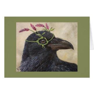 """""""Greta"""" la tarjeta del cuervo"""