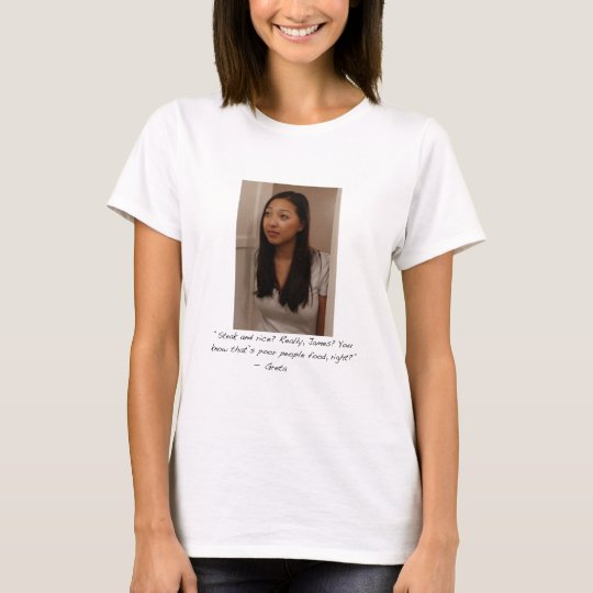 Greta Ladies Babydoll (Fitted) T-Shirt