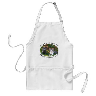 Greta & Mikey from Keller Farms Tails Adult Apron