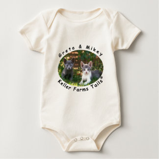 Greta & Mikey from Keller Farms Tails Baby Bodysuit
