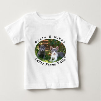 Greta & Mikey from Keller Farms Tails T-shirt