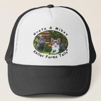 Greta & Mikey from Keller Farms Tails Trucker Hat