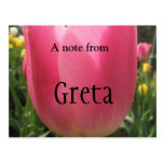 Greta Post Card
