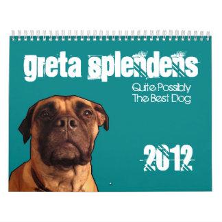 Greta Splendens: Quite Possibly the Best Dog Calendar