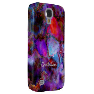 Gretchen coloreó la caja de la galaxia S4 de Funda Samsung S4