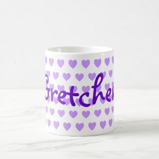 Gretchen en púrpura tazas de café