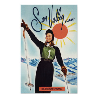 Gretchen Fraser Advertisement Poster