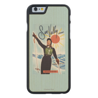 Gretchen Fraser Advertisement Poster Carved Maple iPhone 6 Slim Case