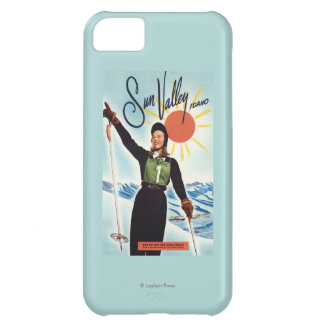 Gretchen Fraser Advertisement Poster Case For iPhone 5C