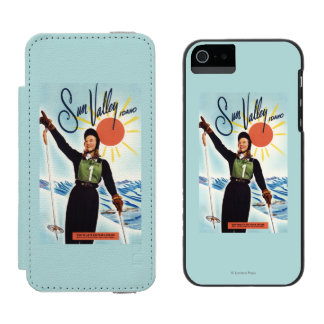 Gretchen Fraser Advertisement Poster iPhone SE/5/5s Wallet Case