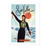 Gretchen Fraser Advertisement Poster Postcard