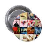 Gretchen Mug Pinback Button