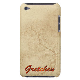 GRETCHEN Name Branded iPod Touch Case