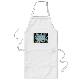 Gretchen Personalized Blooming Hyacinth Apron