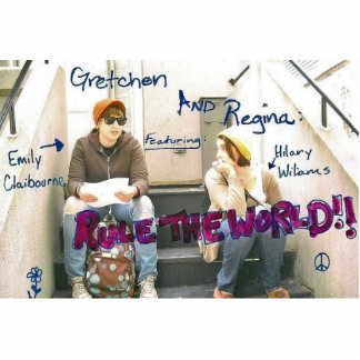 ¡Gretchen y RESERVA del imán de Regina la FECHA! Imán Fotoescultura