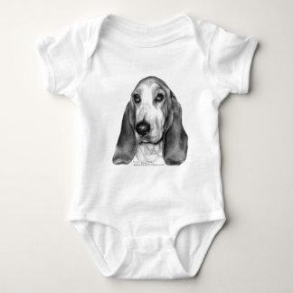 Gretel, Basset Hound Baby Bodysuit