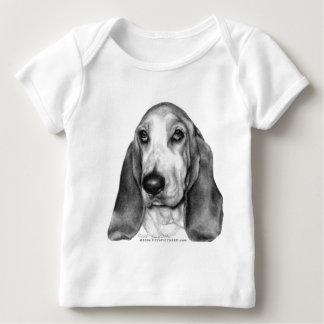 Gretel, Basset Hound Baby T-Shirt