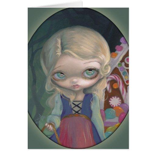"""Gretel"" Greeting Card"