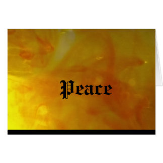 Greting Card Peace