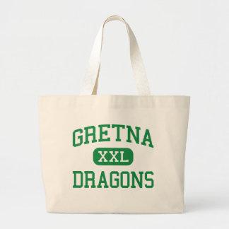 Gretna - Dragons - High School - Gretna Nebraska Tote Bag