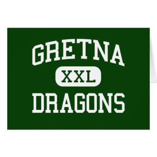 Gretna - Dragons - High School - Gretna Nebraska Greeting Cards