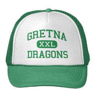 Gretna - Dragons - High School - Gretna Nebraska Mesh Hats