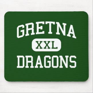 Gretna - Dragons - High School - Gretna Nebraska Mouse Pads