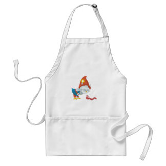 Grewwit and the Worm Adult Apron
